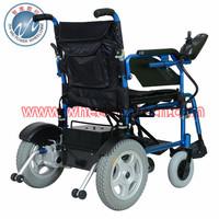"""Lead Acid Battery,12.5""""Rear wheels Folding Power wheelchair"""