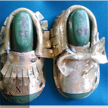 china supplier cheap prices flat sole leather baby born doll shoes vietnam shoes