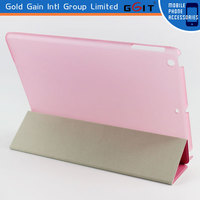 Magnetic PU 3 Fold Stand Case For iPad 2,3,4, Sleep Wake Flip Cover For iPad