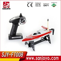 2015 New products Feilun FT008 Rc Jet Boats For Sale High Speed Remote Control Racing Boat SJY- FT008 Hobby Boat