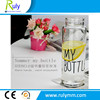Clear 500ml my bottle on hot sale , customized printing can be made