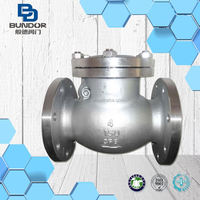 "API Flange Type Factory 1/4"" swing check valve Manufacturer"