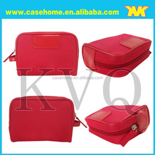 leather bag case for camera , red hand bag case , tablet case, computer case