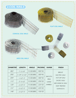 2015 New product galvanized roofing coil nails