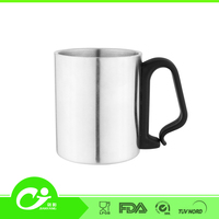 China Stainless Steel Coffee Mug With Handle
