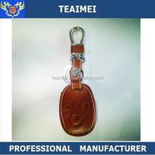 Unisex Car Remote Control Leather Key FOB Case