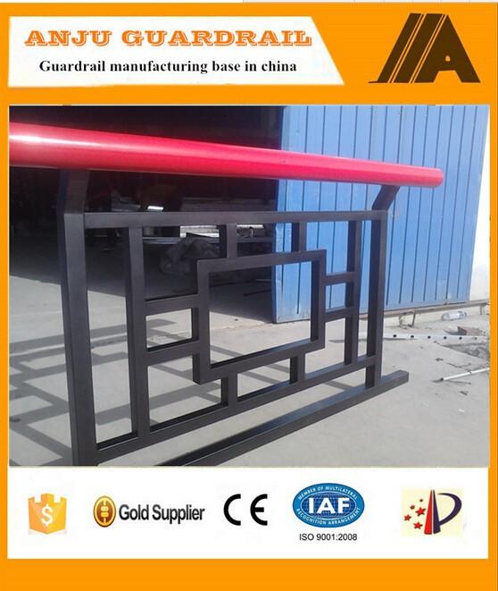 YT-015 customized sicherheits & dekorative billig balkon zaun ...