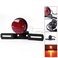 BJ-LPL-009 Super quality universal tail brake lighting metal bracket light motorcycle for ATV, Dirtbike