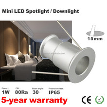 Easy replacement 3W 3W spot light 60D 30D led spot 3W led ceiling light 80Ra 100LM/W 15mm 25mm