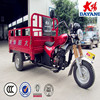 heavy loading bajij kenya 4 stroke three wheel motorcycle with cargo