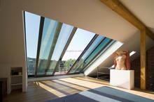 tempered glass roof sliding