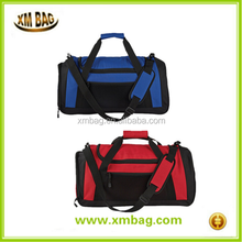 Large polyester workout sport duffle bag, Unisex travel carry on luggage bag