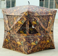Quick Open Design Camouflage Hunting Blind Tent 3person capacity