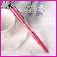 Wedding Gifts touch stylus pen crystal ball pen for gift/crystal ball pen/Crystal Clear Pen