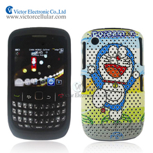 2014 China supplier Water Sticker Silicone Combo Case for BlackBerry Curve 8520 8530 9300