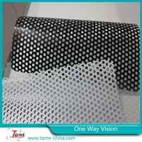 glass sticker one way vision ,one way vision window sticker ,3m one way vision film