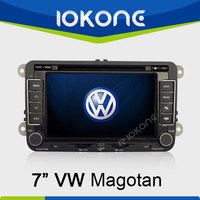 """factory 7"""" HD Touch screen 2 din 2005-2010 used volkswagen touareg with gps, TMC, camera, mic, dvb-t"""