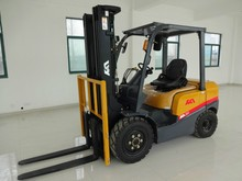 Nissan k25 3.0ton gasoline forklift sell well in Brazil ,Japanese Nissan spare parts