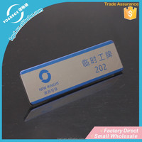 Top Grade Hot Sell Metal name plate magnets
