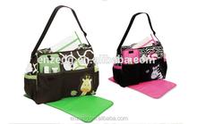 hot Multi Function Baby Diaper Nappy Changing Bag Changing Mat Mummy Tote Handbag
