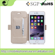 Abroad Sales Flip Cover PU+TPU Leather Flip Case For Smart Phone For iPhone 6 Plus 5.5
