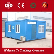 safe and durable movable 20ft and 40ft shipping container house office for construction site