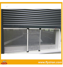 Aluminium mosquito net window with insect screen frame style