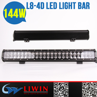 LW super led flood light bar 4D-144W for Vehicle Excavator new product trucks sale used cars for sale in germany electric bike