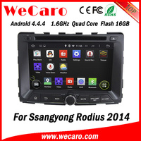 "Wecaro WC-SY7070 7"" Android 4.4.4 WIFI 3G touch screen car radio gps for ssangyong rodius 2014"