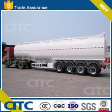 2015 CITC brand 30-50 cbm or other volume capcity type fuel tank semi trailer for sale / quality oil tanker semi trailer