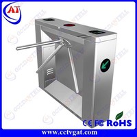 Security entrance enter and exit mechanical optical automatic turnstile with door access control system