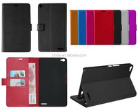 Black Book Leather Case Cover Pouch for HUAWEI Honor X1 ,inner standing