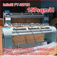 3.2M Inkjet printer.Infinity solvent printer FY3278N.With 4/8 pieces spt510 printhead.