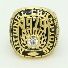 AL0014 hit fine men's rings in 1979 Alabama red tide team championship rings