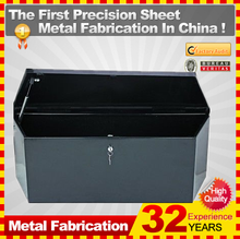 2015 popular Mid size low profile Steel Trailer ToolBox for trcuks