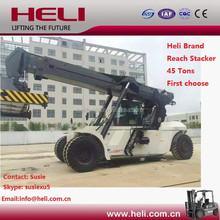 Heli Brand 45 tons Reach Stacker