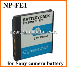For Sony 3.7v 900mah li-ion battery NP-FE1 for camera DSC-T7/ S