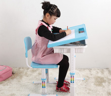 healthy ergonomic children adjustable study table set
