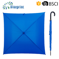 Unique Promotional Umbrellas Square Pongee Fabric Umbrella Special Styles