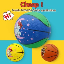 Different Size Training good quality new design oem rubber basketball ball