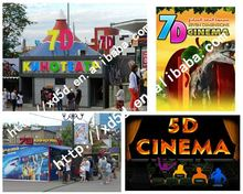 Hot sale Amazing 5D cinema movie in English for 5D cinema