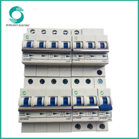 Solar system Non-polarity DIN RAIL 6kA 1P 2P 3P 4P 5 amp micro types of electrical dc circuit breaker mcb