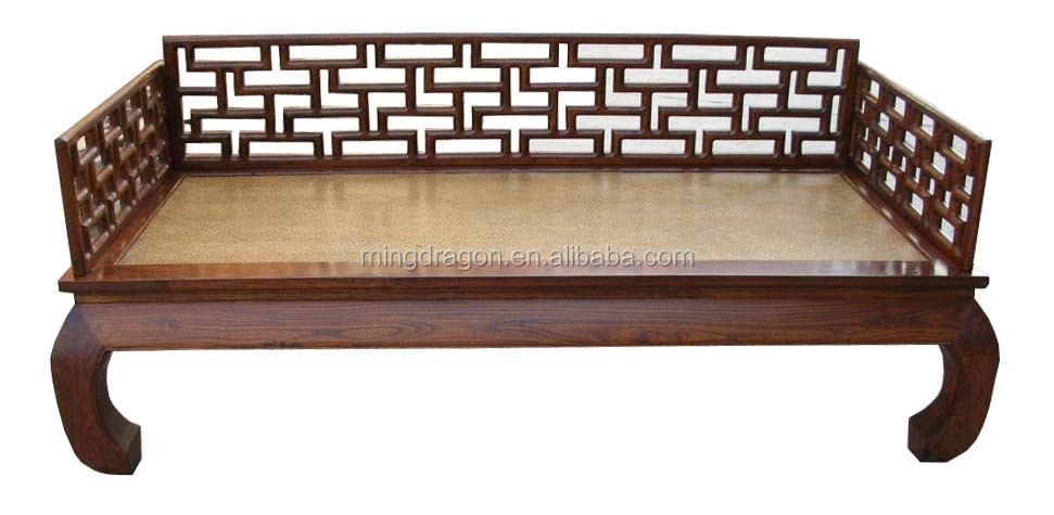 Chinese Antique Furniture Wholesale Wood Carving Sofa
