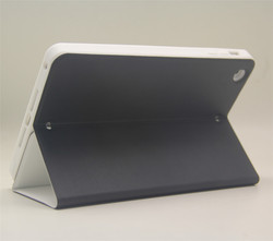 High quality PU Leather+silicone Material unbreakable protective case for iPad Cases and Covers