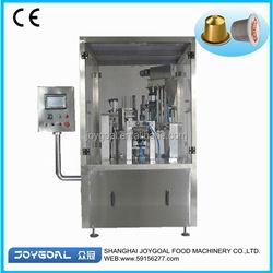Rotary type BHZ-2 coffee capsule filling sealing machine
