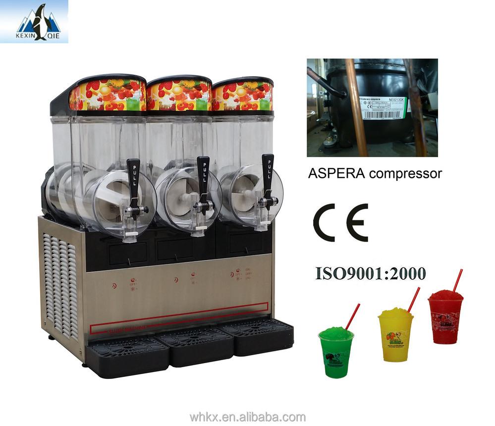 chine triple bols granit noire frozen machine distributeur de boisson froide d 39 autres machines. Black Bedroom Furniture Sets. Home Design Ideas