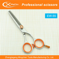 EW-55 Scissors With Red Handle,Solingen Hair Scissors,Japanese Stainless Steel