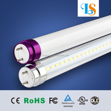 Plug&Play t8 4ft led tube rotatable end cap led fluorescent tube t8 18w Epistar SMD2835 72pcs with 3 year warranty Patent UL CE