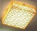 Acrytic luz de techo- cubo de agua