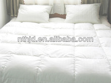 100% cotton hotel bedding set duck down duvet
